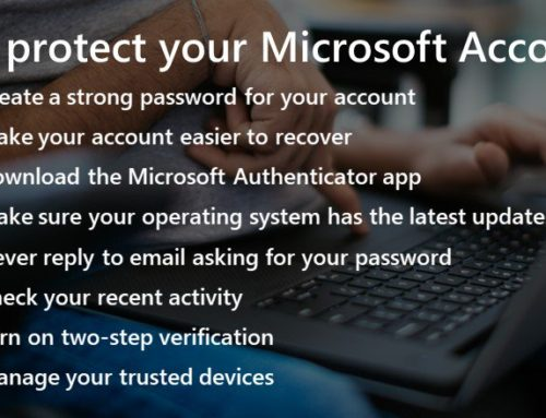 Help Protect Your Microsoft Account